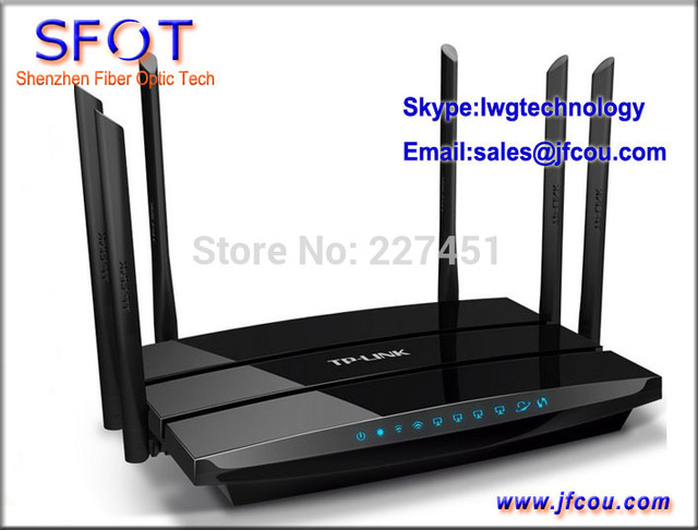 TP-LINK Wireless Router AC 1750 Dual Band Gigabit (TL-WDR7500), 1750Mbps, 802.11ac, Chinese system.