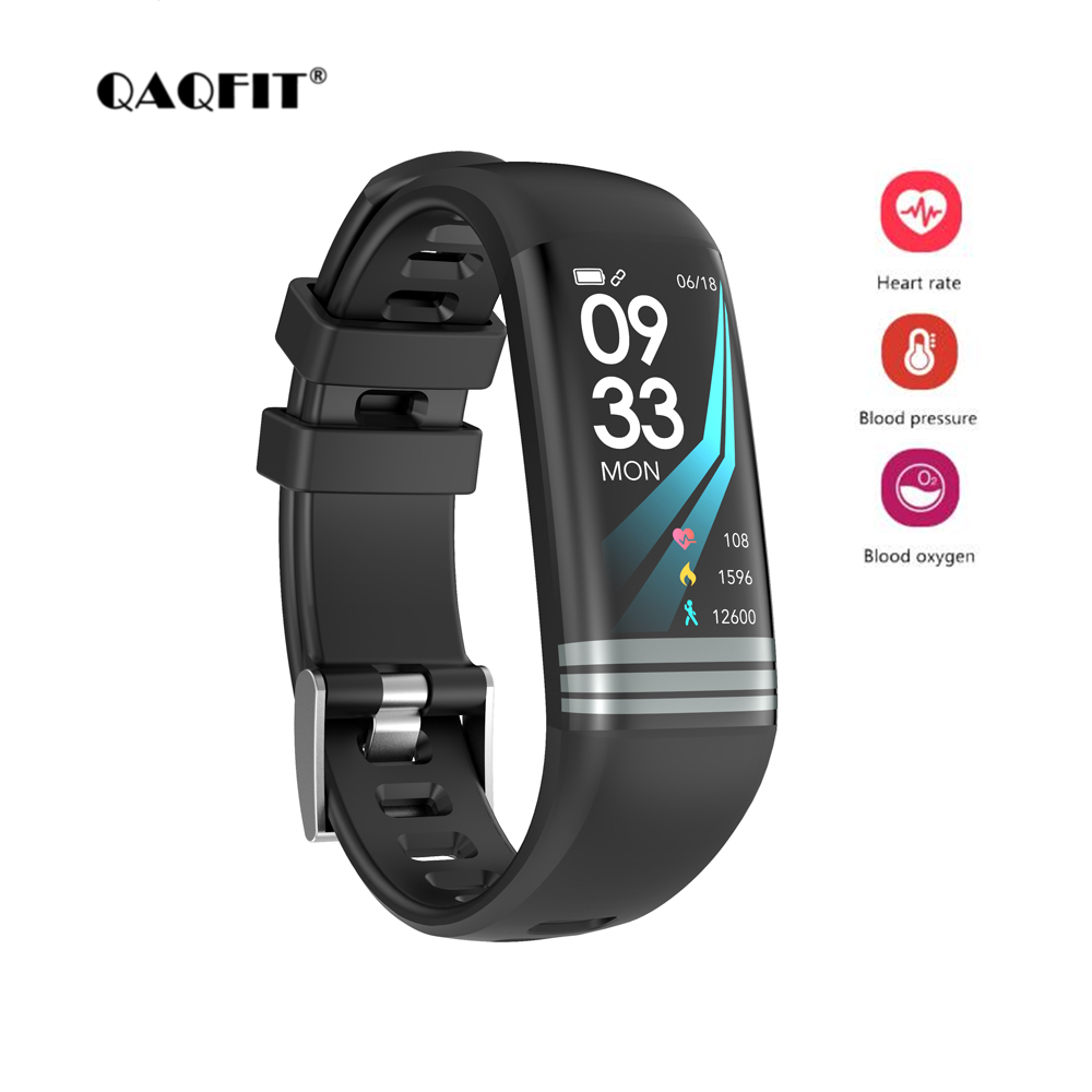 QAQFIT G26 Fitness bracelet Blood Pressure Heart Rate Monitor Smart Band Watch Mutiple Sport Mode Wristbands for iPhone Huawei