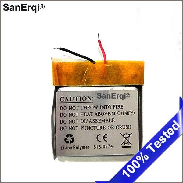 Shuffle 2 Battery for iPOD for Shuffle2nd Generation 2 Shuffle2, 616-0274 Accumulator Batterie AKKU Battery(China)