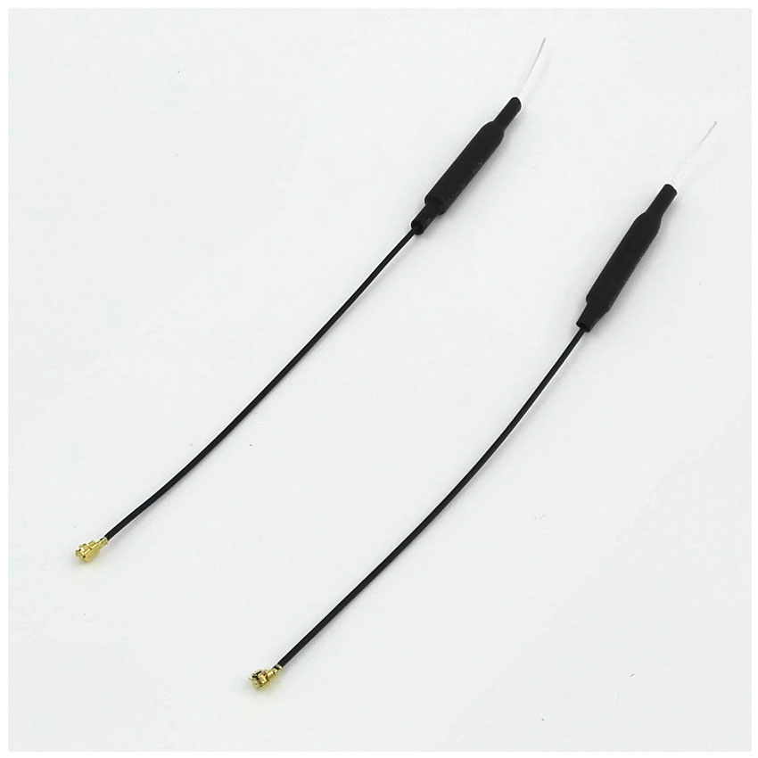 2Pcs 150mm 2.4G Receiver Antenna Aerial 3DB w Copper Tube IPX13 Plug for Frsky Receivers Remote Control Antenas Receptor Futaba устройства и запчасти для моделей с ду solaris kay frsky 2 4g 150mm futaba