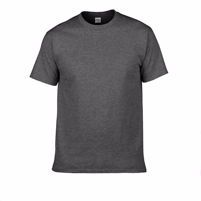 HTB1389SSpXXXXcSapXXq6xXFXXXr - Men's Classic Solid Color High-Quality 100% Cotton T-Shirts - Wide Color Variety