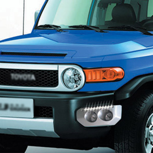 Ownsun Brand New Updated LED Daytime Running Lights DRL For Toyota FJ Cruiser 2007-2013 цена