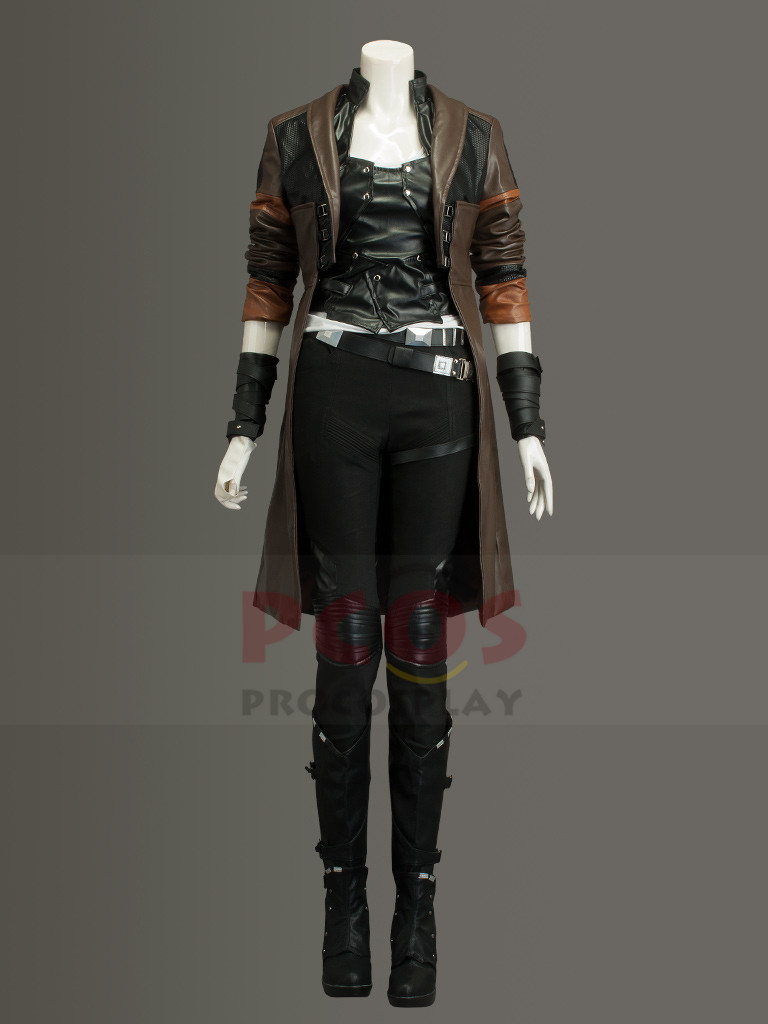 2 Gamora Cosplay Costume Outfit Halloween Suit Guardians of the Galaxy Vol