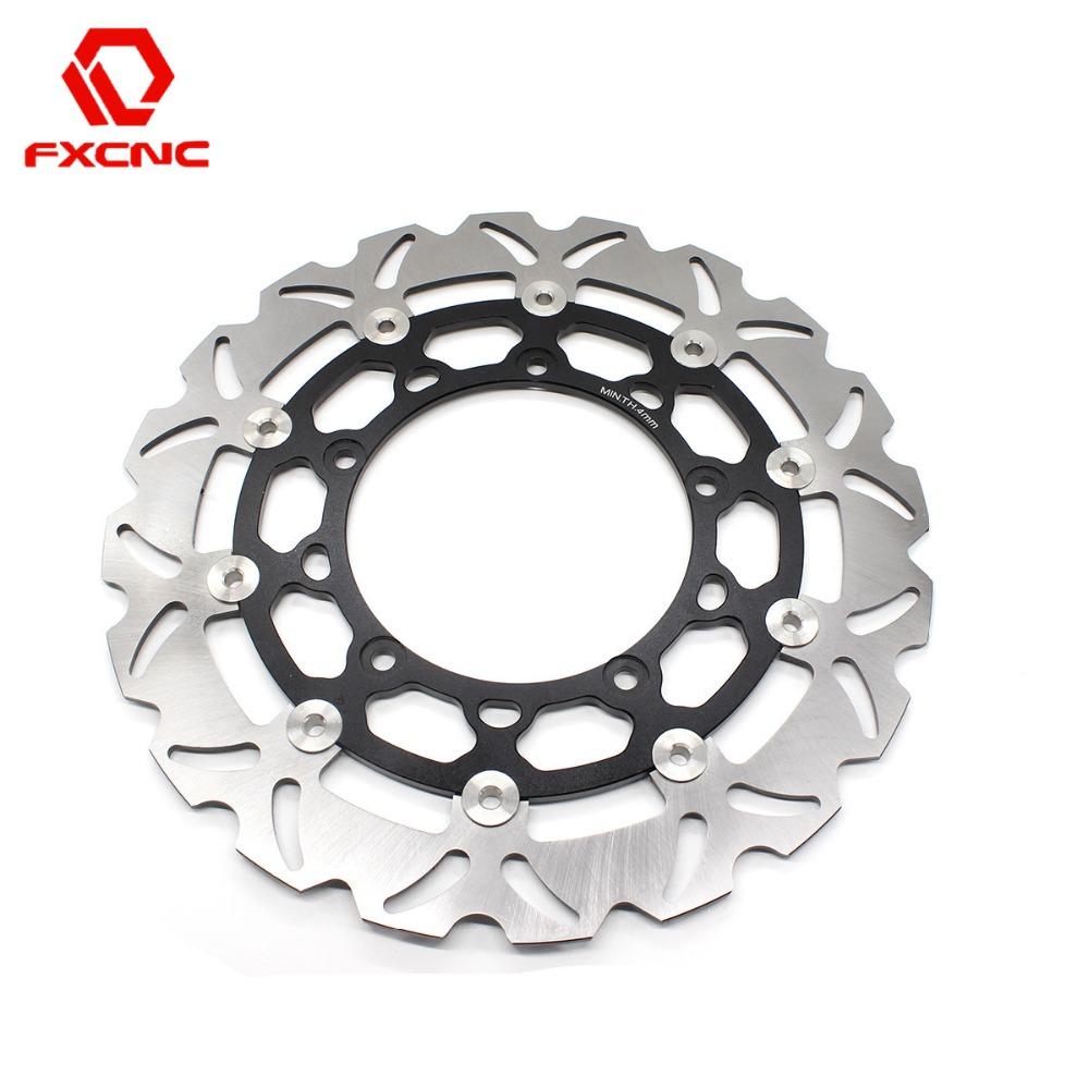 FX <b>CNC Motorcycle</b> Brake Disks Front Brake Disc Rotor For Yamaha ...