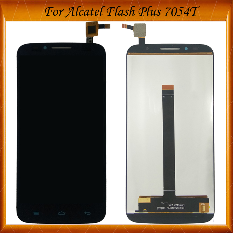 Black Color For Flash Plus Lcd Display+Touch Screen