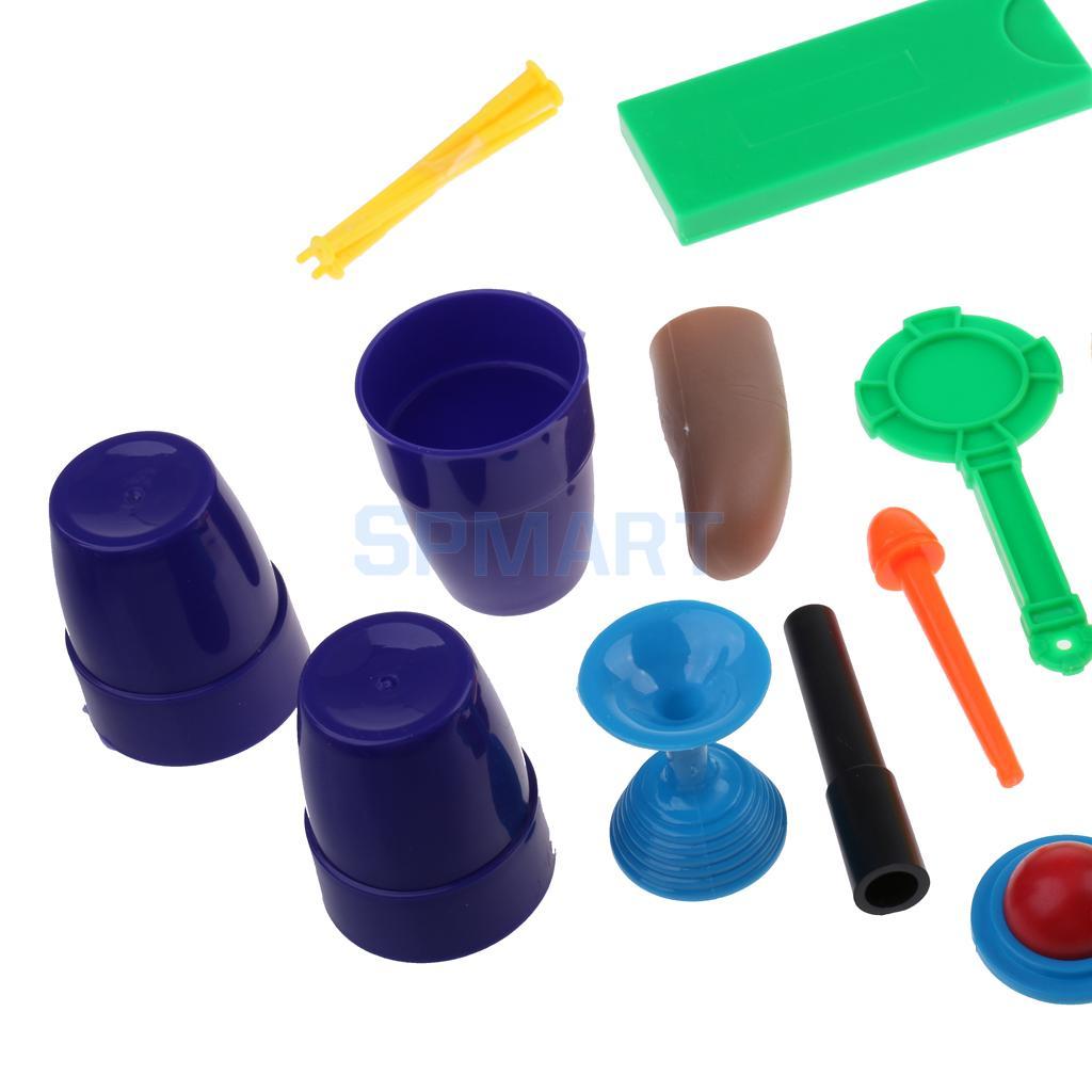 erstaunliche Geld Münzen Zaubertricks Set Spielzeug Requisiten Kits Zauberartikel & -tricks