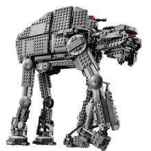 05052 05130 Star Force War Toys Awaken The AT-AT Transportation Armored Robot Building Blocks Bricks legoing 75189 75153