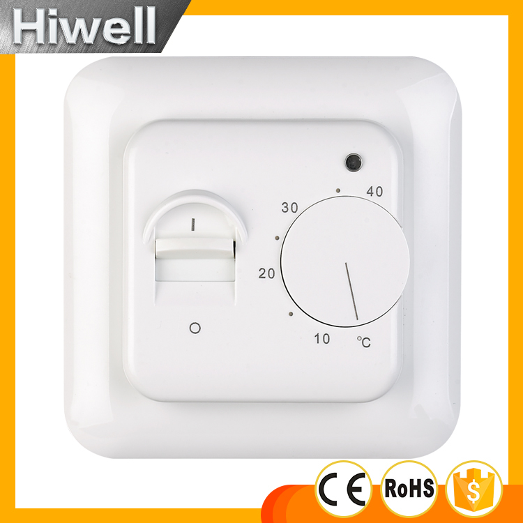 Free shipping Electric Floor Heating Room Thermostat 220V 16A Temperature Controller 3M probe