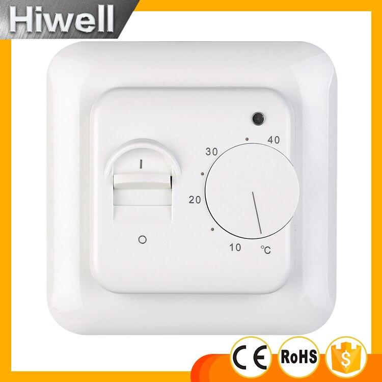 Kostenloser Versand Elektrische Boden Heizung Raum Thermostat 220 V