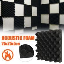 1PCS 25X25X5CM Acoustic Foam Soundproofing Foam Egg Crate Studio Acoustic Foam Soundproofing