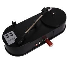 EzCAP Portable USB Turntable Vinyl LP Record Player 33RPM Vinyl Turntables to MP3 Converter Recorder Player RCA R/L 3.5mm Output
