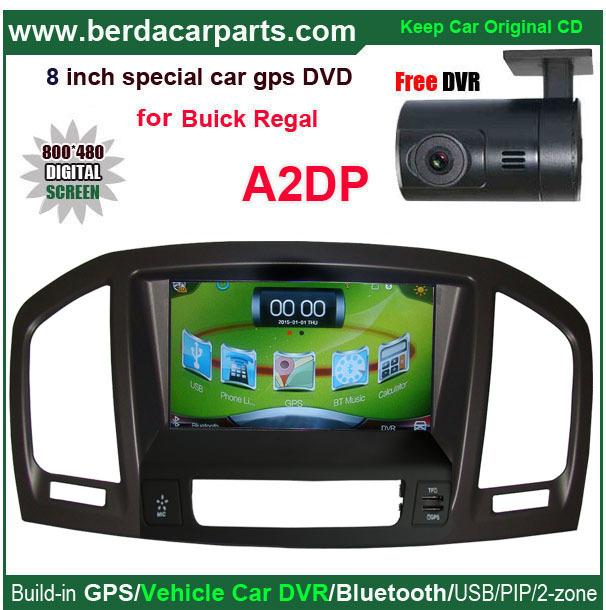 De Navegação GPS do carro para Buick Regal Vauxhall Insignia Player De Vídeo Do Carro, Carro, Carro DVR,, leitor USB