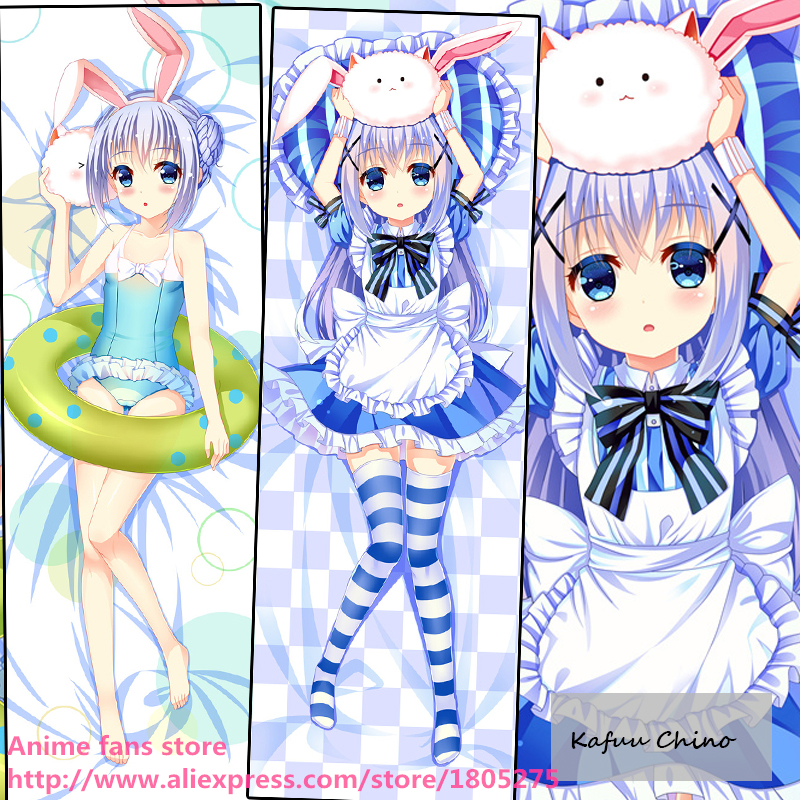 Anime Dakimakura Pillow Case 77111 Is the order a rabbit Kafuu Chino