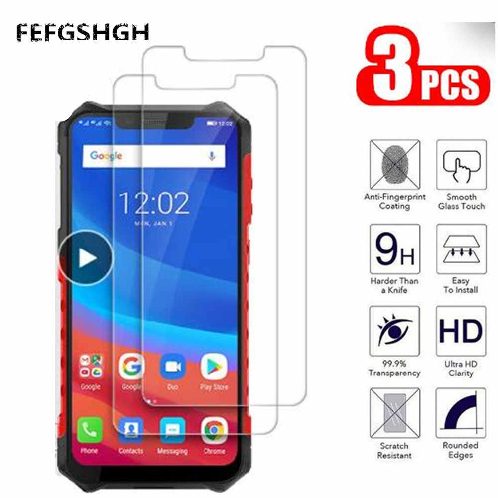 2.5D 9H Tempered Glass For Ulefone Armor 6 Screen Protector Glass On The For Ulefone Armor 6E Protective Film Glass