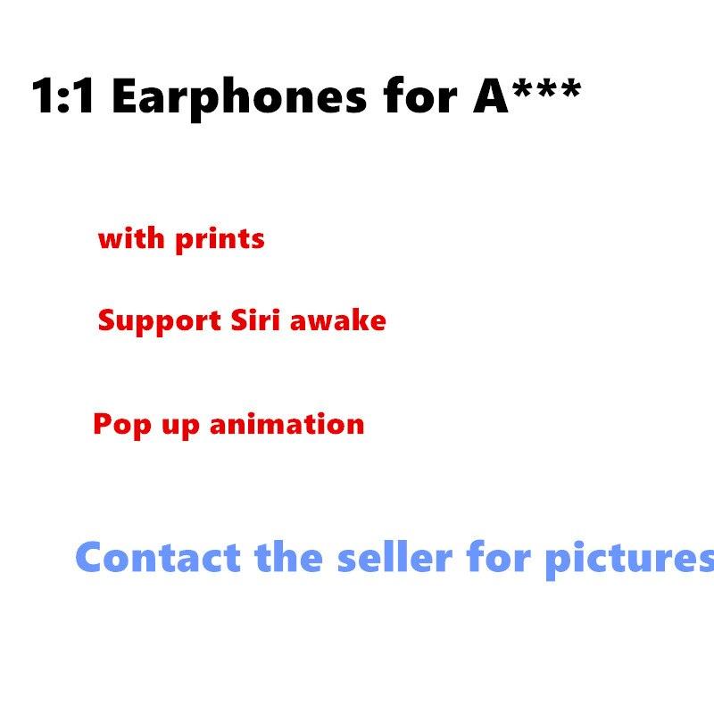 Meilleur 1:1 écouteurs pour gousses d'oreille d'air avec marque pop-up sans fil Bluetooth écouteurs doubles oreillettes pour Iphone Huawei Xiaomi