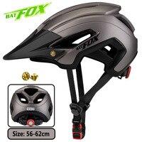 BATFOX bike helmet bat fox mtb cycling helmet integrally molded women bicycle helmet man road bike mtb casco ciclismo bicicleta