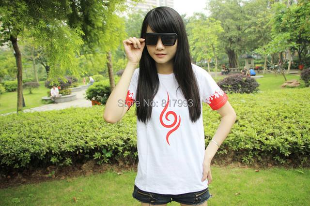 Naruto cosplay costume summer T-Shirts