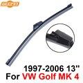 Qeepei lâmina do limpador traseiro sem braço para vw golf mk 4 1999-2005 13 ''3/5 portas Hatchback Alta Qualidade Iso9001 Borracha Natural F1-33
