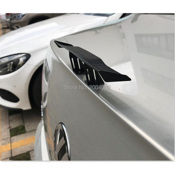 Car Spoiler Wing Small Tail Decoration Sticker Accessories for jaguar xf mercedes w204 range rover sport bmw e39 audi a4 b6 image