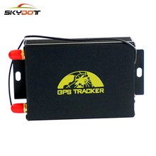 SKydot Twin SIM GPS Tracker TK105A GSM GPRS Actual Time Monitoring Machine GPS105A Automotive Safety Burglar Alarm system Google maps