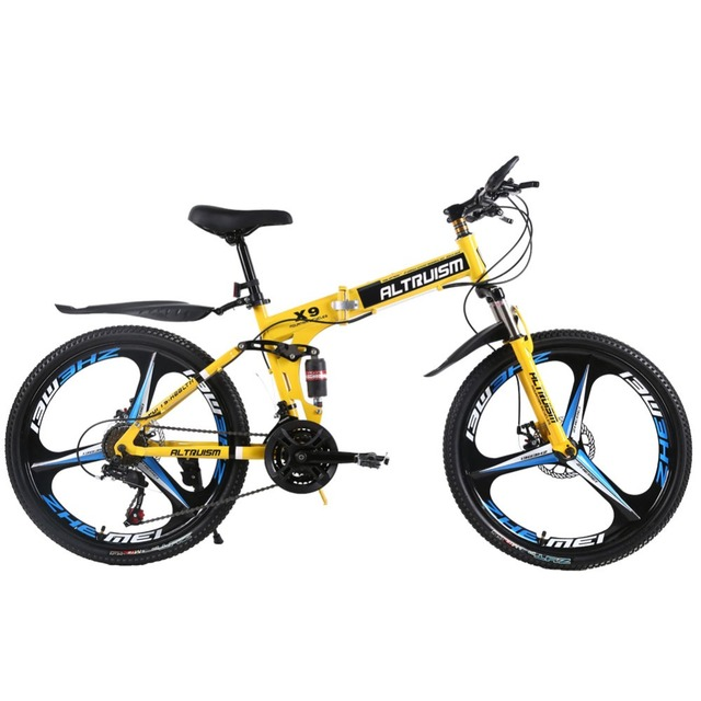 d9545b30390 ALTRUISM X9 Pro Mountain Bike 24 Speed Dual Disc Brakes 26 Inch Bicycles  Steel Bikes Male And Female Students Cycling Bicycle