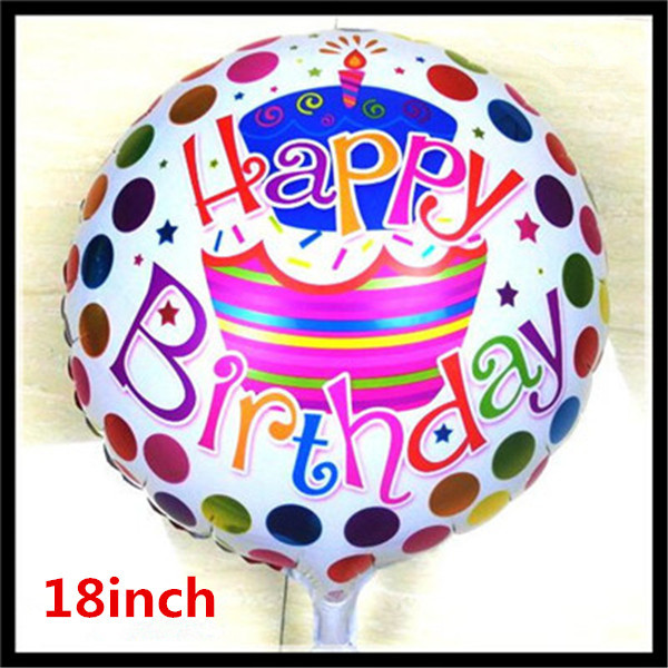 1pcs 18inch Birthday Balloons Foil Balloons Children Gift Birthday/Party/Wedding