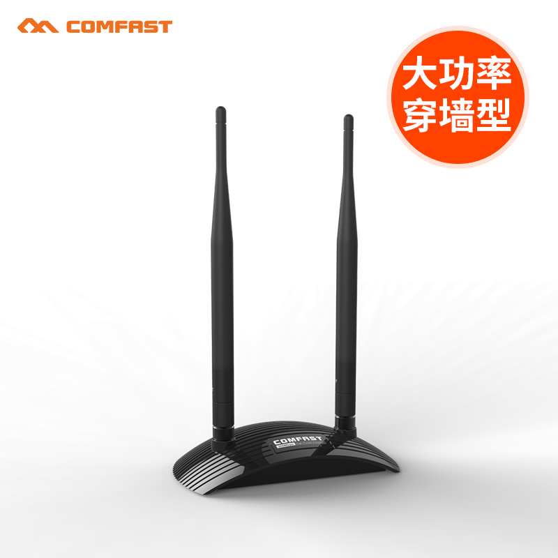 COMFAST 300Mbps High Power USB Wifi adapter CF-WU7300ND Wireless network card RALINK RT3072 chipset with 2*6dBi wifi Antenna