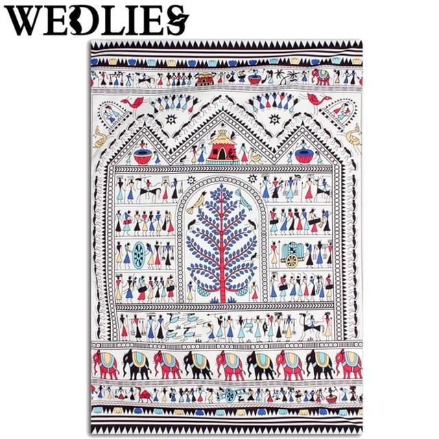 Wandbehang Elefanten Indian Tapisserie Böhmischen Bettdecke Decke Matte  Wohnheim Haus Zimmer Dekorative Textilien 210X145 Cm