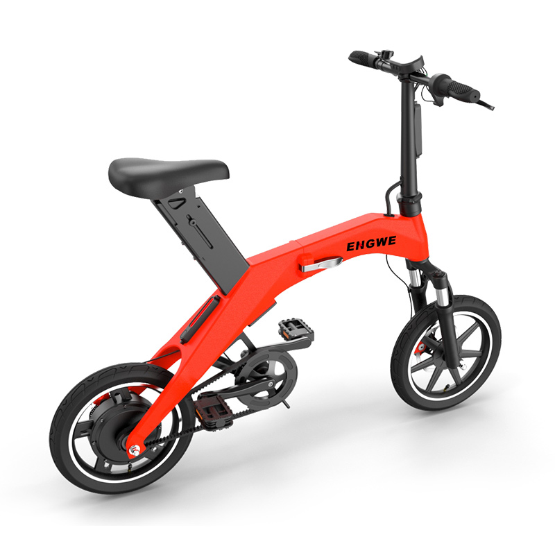 12inch electric bike 36V lithium battetry 300w high speed motor fold smart ebike mini Urban electric bicycle Comfortable ride in Electric Bicycle from Sports Entertainment