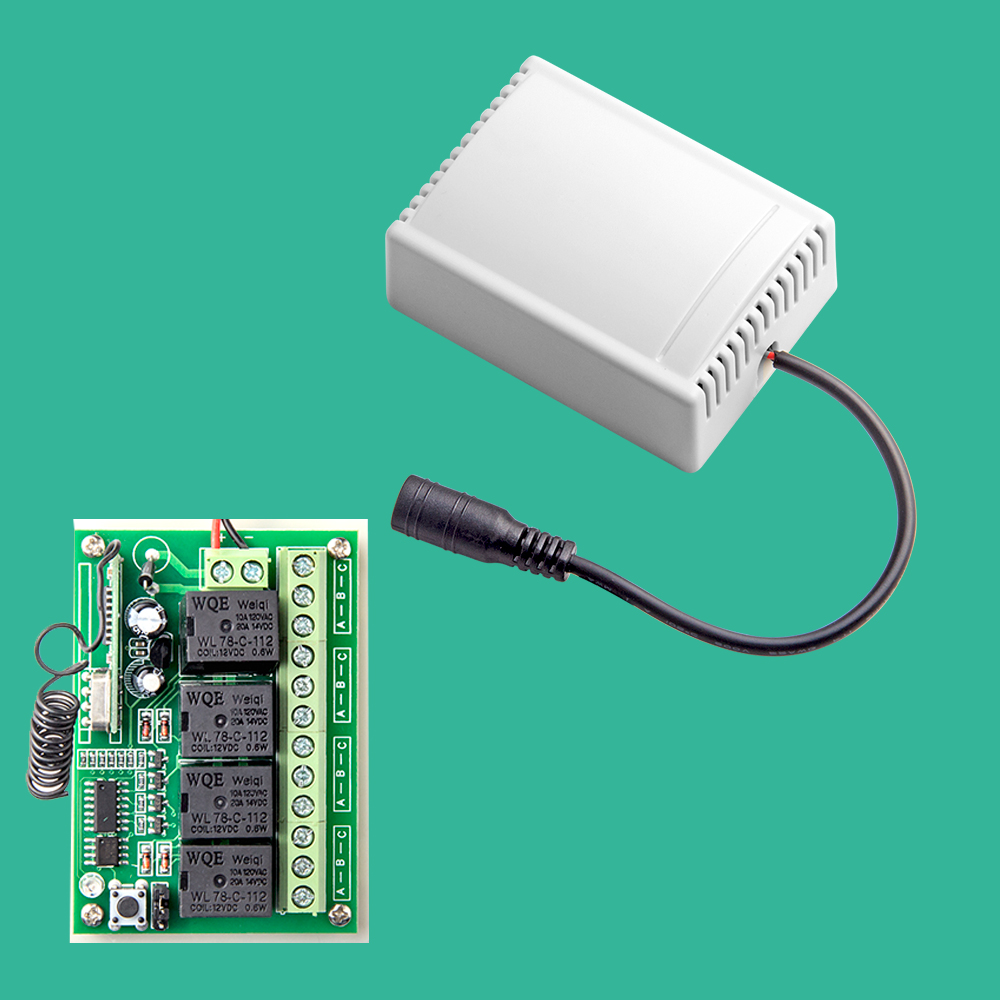 Wireless Remote Control Smart 4CH Wireless Relay Output for G90B G90B plus S2G S2W S1 G90E centurion smart 1 smart 2 smart 4 replacement remote control