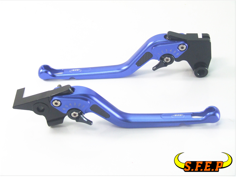 3D Long CNC Adjustable Motorcycle Brake and Clutch Levers with Carbon Fiber Inlay For Triumph SPRINT GT 2011-2015 long straight new cnc adjustable brake clutch levers for triumph speed four speed triple daytona 600 650 955i sprint st rs gt