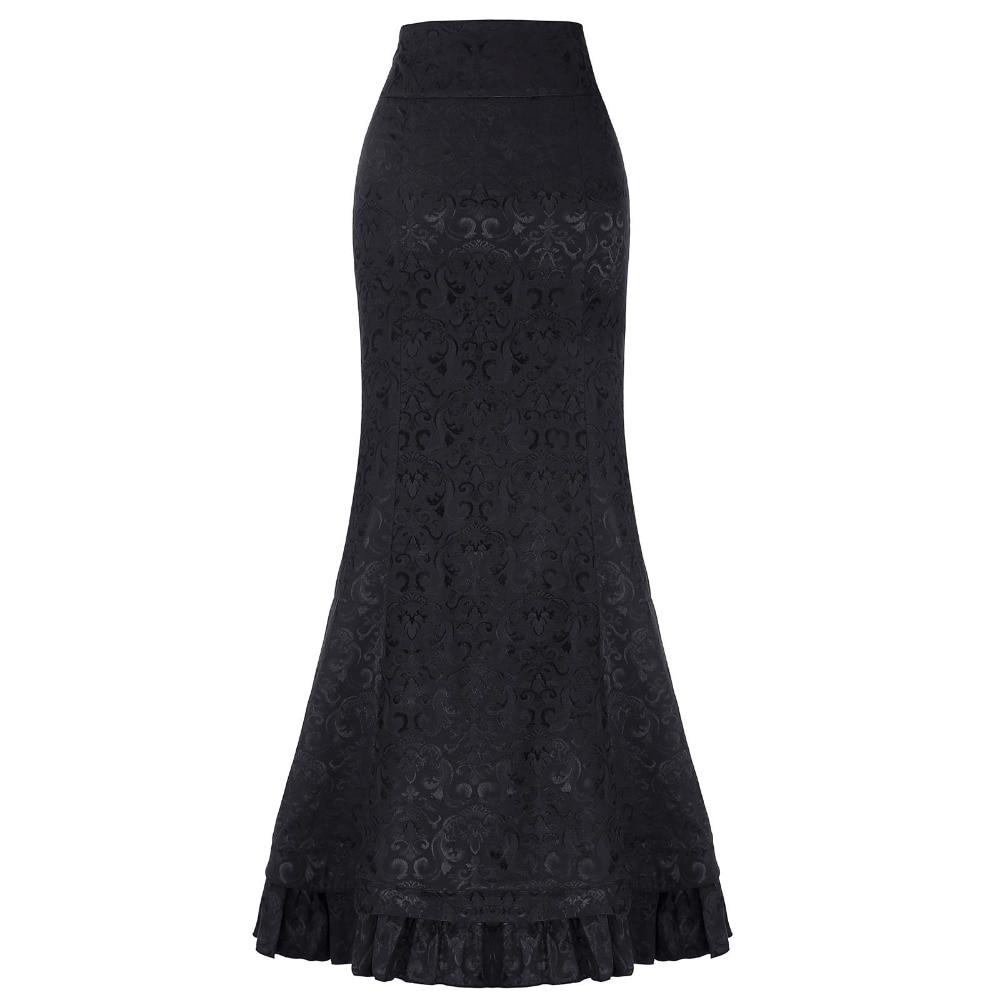 Belle Poque μακρύ φούστες γυναικών - Γυναικείος ρουχισμός - Φωτογραφία 2