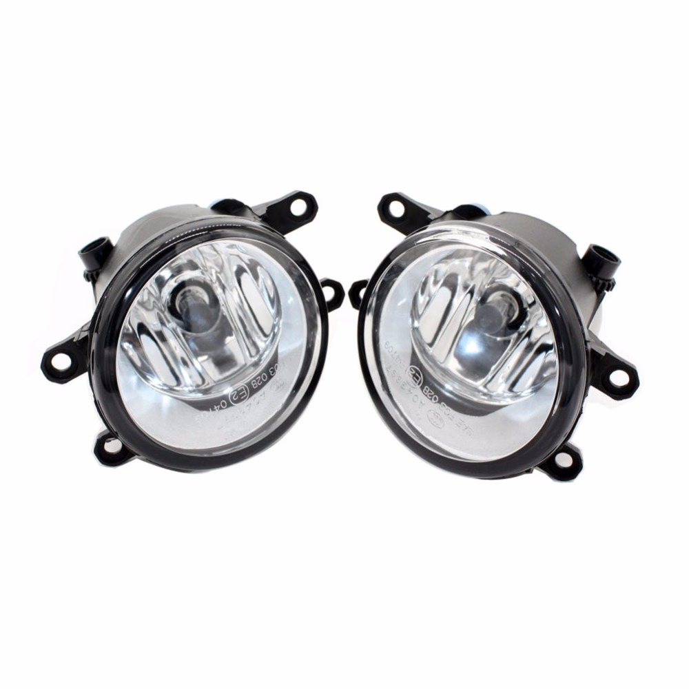 Front Fog Lights for Toyota WISH MPV (ZNE1_, ANE1_) 2005-2009 12V 55W Auto Lamp bumper Car H11 Halogen Light Bulb Assembly front fog ligh for vauxhall movano vectra zafira 98 12 auto right left lamp car styling h11 halogen light 12v 55w bulb assembly