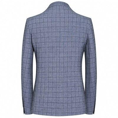 2019 Mâle Grey D'affaires Des Hommes Slim Pièces Deux Occasionnels Classique De 2 Hxh215 Blazers Costume Luxe Costumes Fit Boutons Tinteen zqHdz