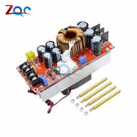 1500W 30A DC-DC Step Up Boost Converter 10-60V to 12-90V Current Power Supply Module With Fan