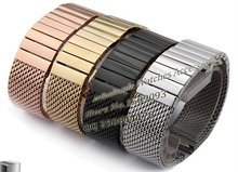 Watch band 20mm 22mm  high quality stainless steel SHARK mesh bracelet Diving Watchbands Gold Fast delivery