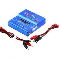 Build power High Quality iMAX B6 AC 80W B6AC Lipo NiMH 3S/4S/5S RC Battery Balance Charger + EU US AU UK plug power supply wire