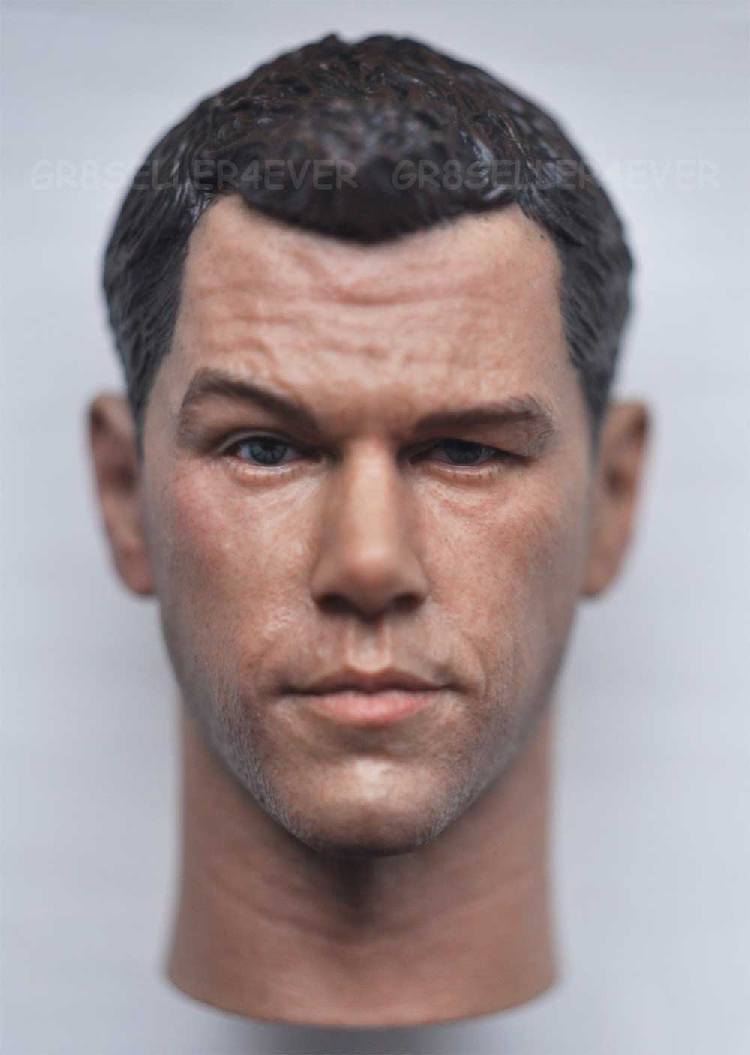 1/6 Head Sculpt Body for 12 Action Figure doll Toys soldier head model toyMatt Damon spy shadow heavy Mars rescue V3.0 1 6 female head for 12 action figure doll accessories marvel s the avengers agents of s h i e l d maria hill doll head sculpt