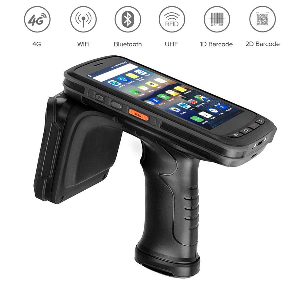 alta qualidade movel coletor de dados handheld pda terminal 4g android 6 0 1d 2d scanner