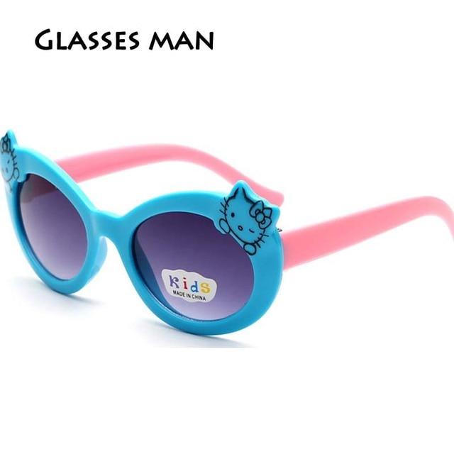 Hot sale high quality Kids hello kitty Multicolor sunglasses Fashion ...