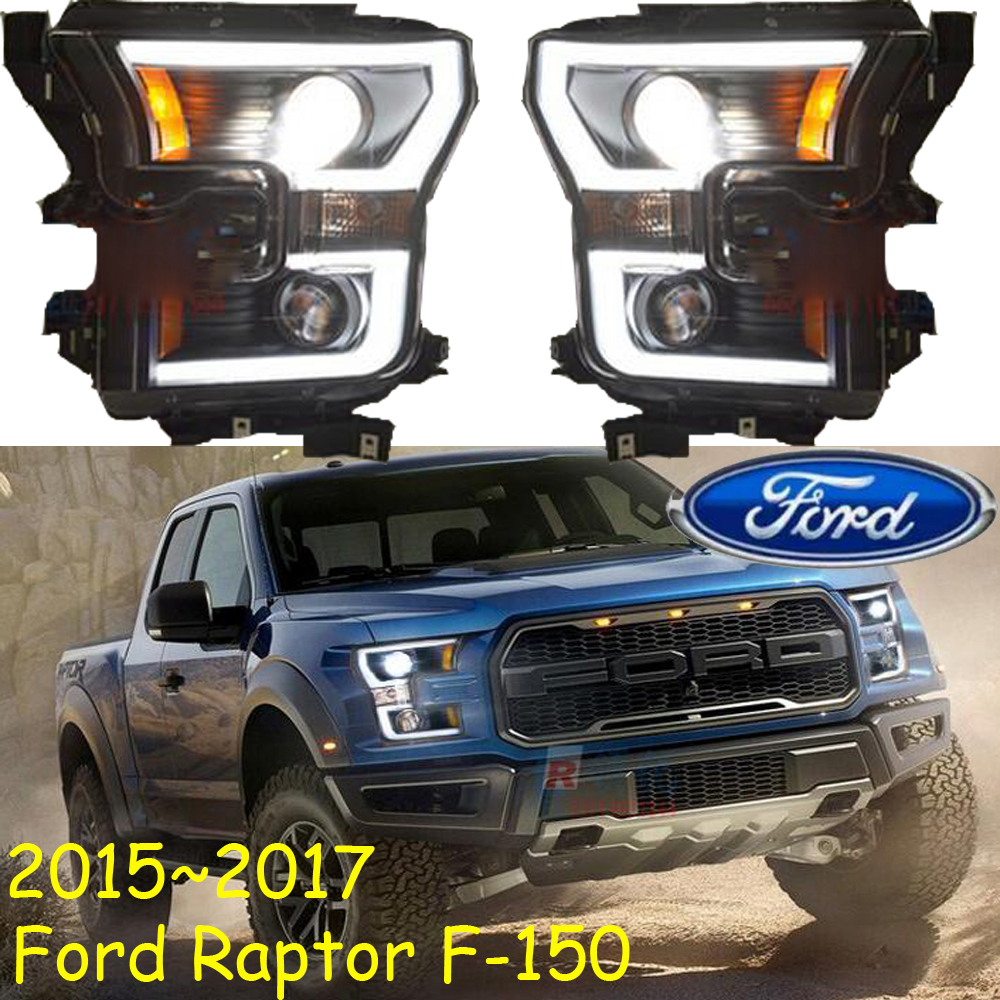 Rapto F150 headlight,2015~2017,Fit for LHD,Free ship!Rapto F150 fog light,2ps/se+2pcs Aozoom Ballast;F150 head light for rapto f 150 daytime light 2013 free ship led f 150 fog light ecosport kuga f 150 fog lamp heritage daytime light