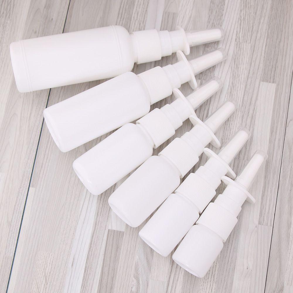 1 шт 10 мл 30 мл 50 м Белые вакуумные пластиковые флаконы для Назального спрея насос спрей тумана нос спрей бутылка для медицинской упаковки