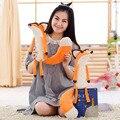 1 unids Más Nuevo 60 cm Real El Principito Fox Plush Dolls Poco el príncipe Y El Zorro Animales de Peluche de Felpa Juguetes Educativos Para El Bebé