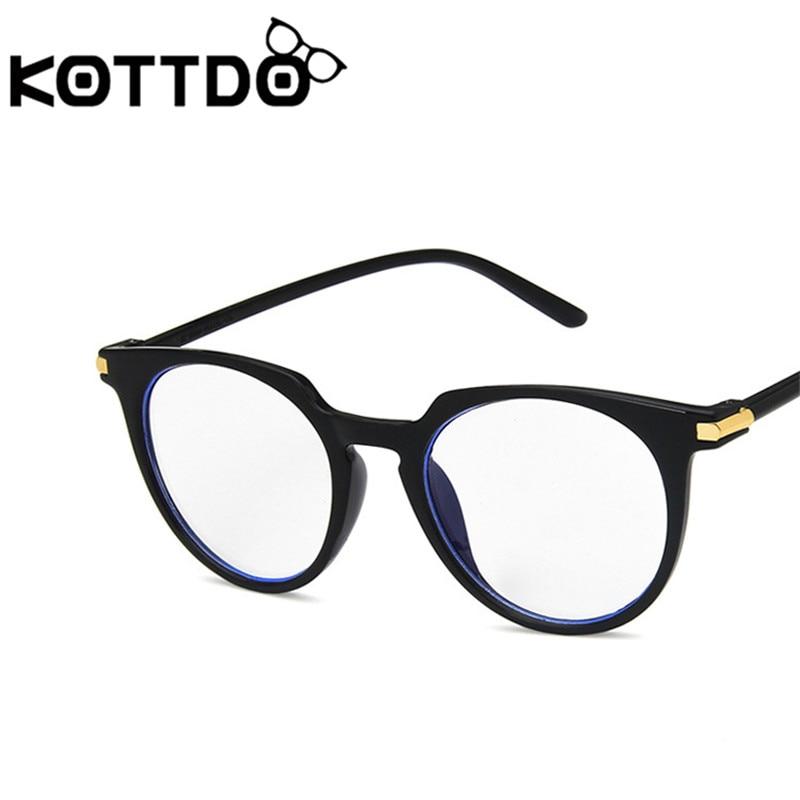 69dad0b02 2019 Blu-ray Round Glasses Frame Clear Glasses Men Blue Light Glasses  Eyeglasses Women Eye Glasses Lentes Opticos Mujer