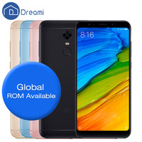 Original Dreami Xiaomi Redmi 5 Plus 3GB RAM 32GB ROM Mobile Phone Snapdragon 625 Octa Core