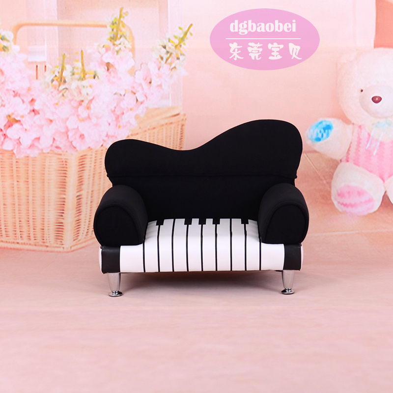 Foreign high end photography piano children small sofa sofa cute ...