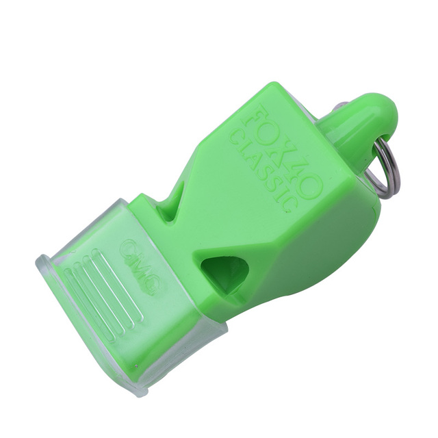 1Pcs Whistle Plastic Fox 40 Soccer Football Basketball Hockey Baseball Sports Referee Whistle Survival Outdoor Like 2