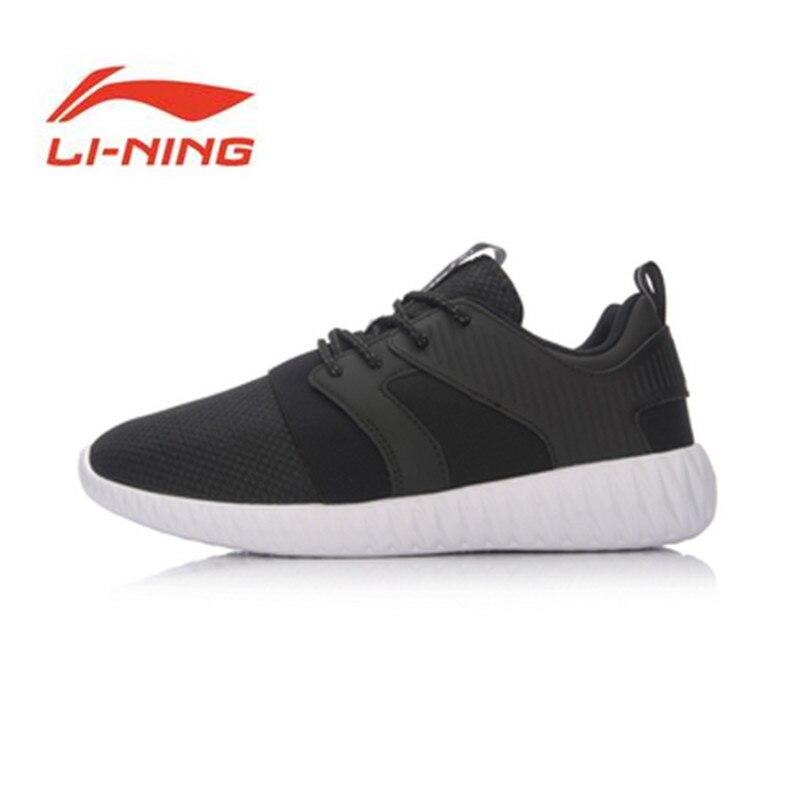Li Ning Origina chaussures 2017 nouveaux arrivants chaussures de course respirant courir baskets EVA chaussures d'extérieur chaussures de sport souple ARLM001