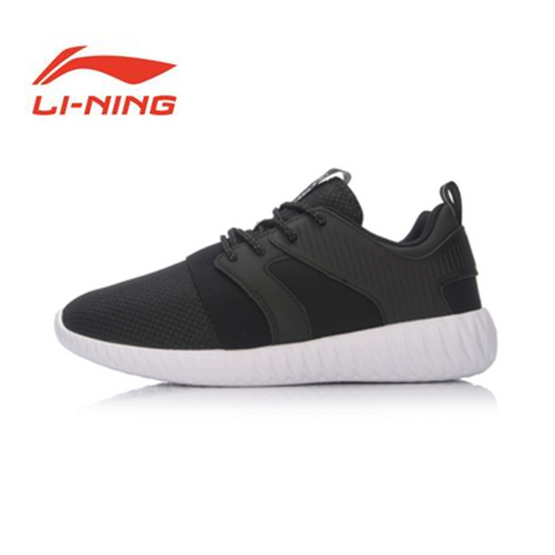 Li Ning Origina Shoes 2017 New Arrivals Running Shoes Breathable Run Sneakers EVA Outsole Footwear Soft Sports Shoes ARLM001 original li ning men professional basketball shoes