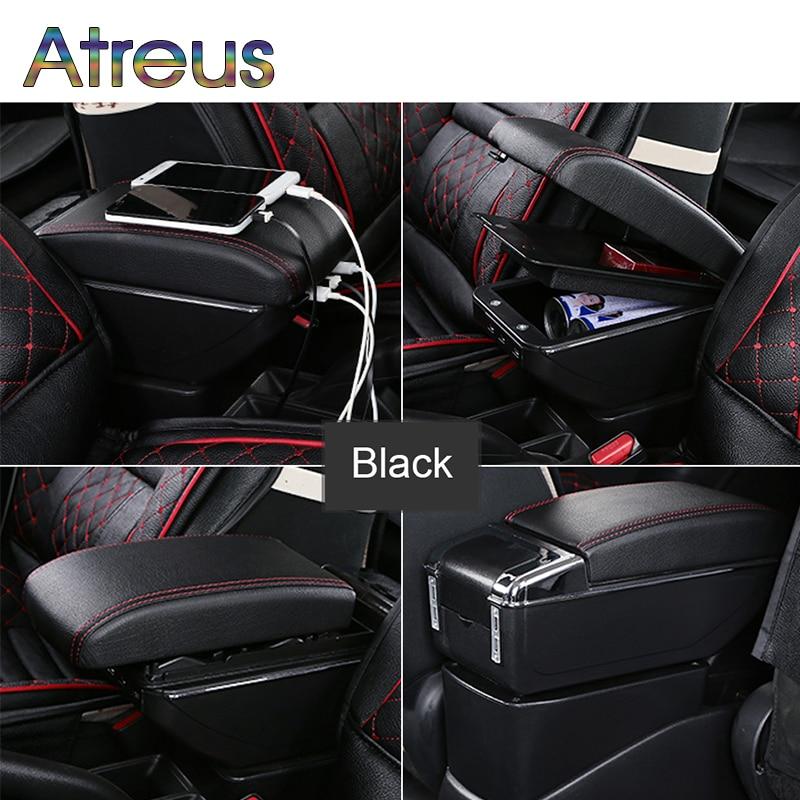 Auto Car Armrest Box Modified For Suzuki SX4 2008 2009 2010 2015 2016 2017 USB Charger